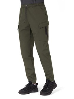 Теплые штаны 6 POCKETS FLEECE PANTS I хаки 4/20