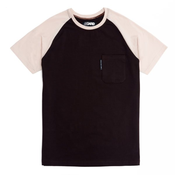 T-SHIRT WITH POCKET 3/17 brown-beige
